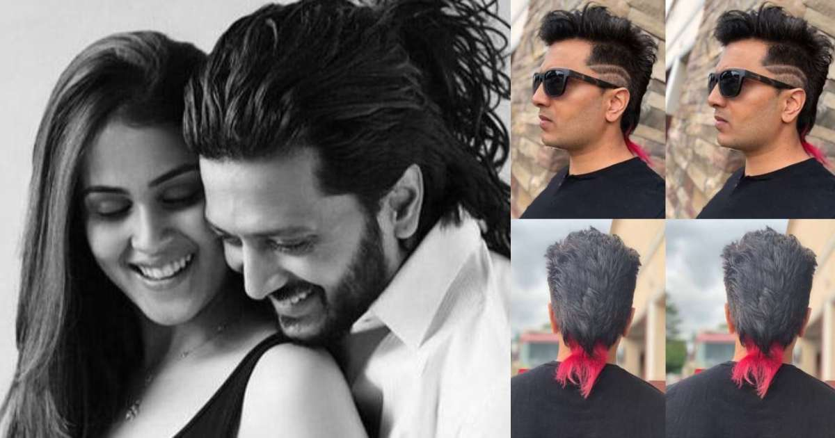 Photo of Riteish Deshmukh Surprises Wife With a Wacky New Hairstyle, Fans Troll Him Bad
