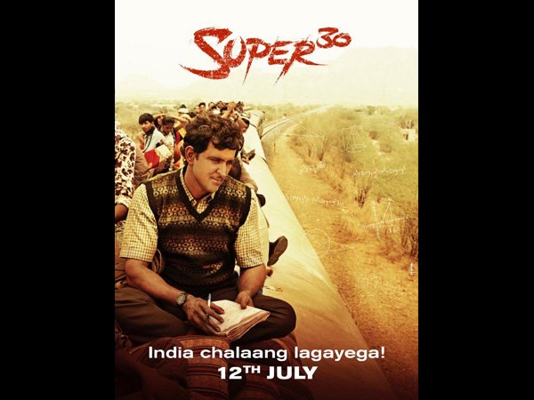 With Super 30's New Poster: Hrithik Gives His Fans A Glimpse Into The Struggles Of Anand Kumar's Life!