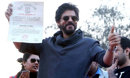 SRK's Admission Form From Hansraj College Is In The News Again