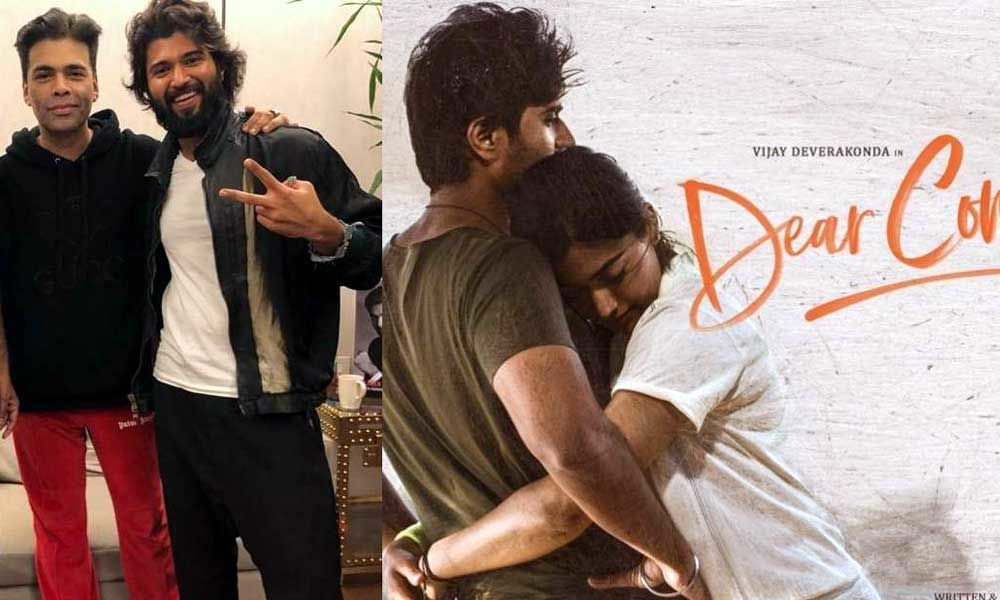 Photo of Karan Johar Outbids Others For Vijay Deverakonda's Dear Comrade Hindi Rights