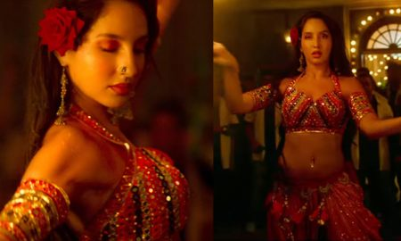 Nora Fatehi Is Looking Sizzling Hot In This 'Batla House' Item Song