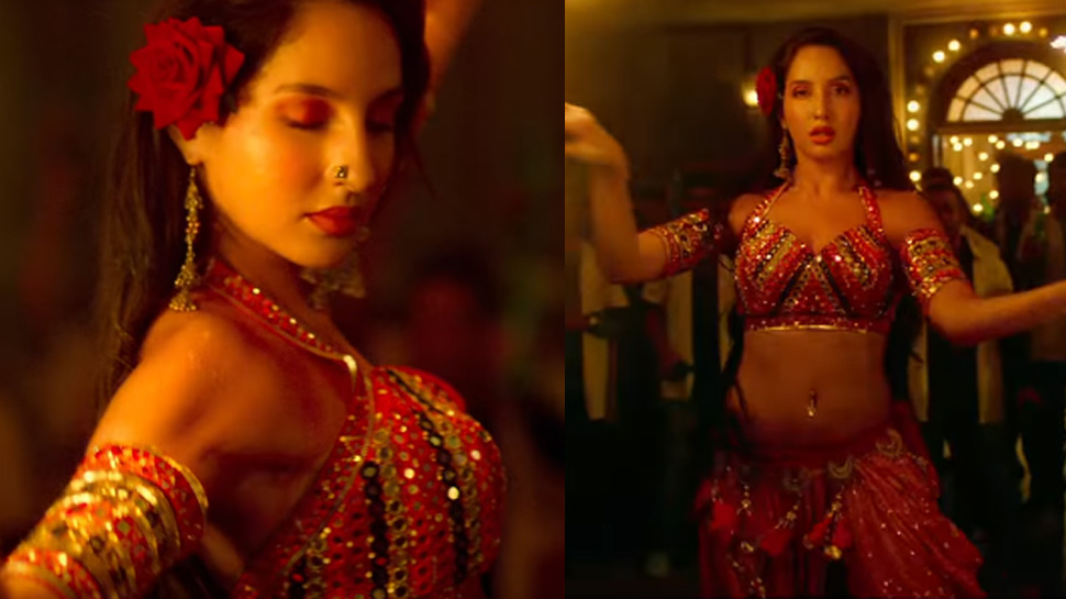 Photo of Nora Fatehi Is Looking Sizzling Hot In This 'Batla House' Item Song