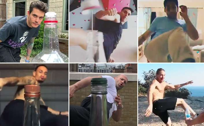Photo of Akshay Kumar Takes Up The Bottle Cap Challenge And Totally Nails It!
