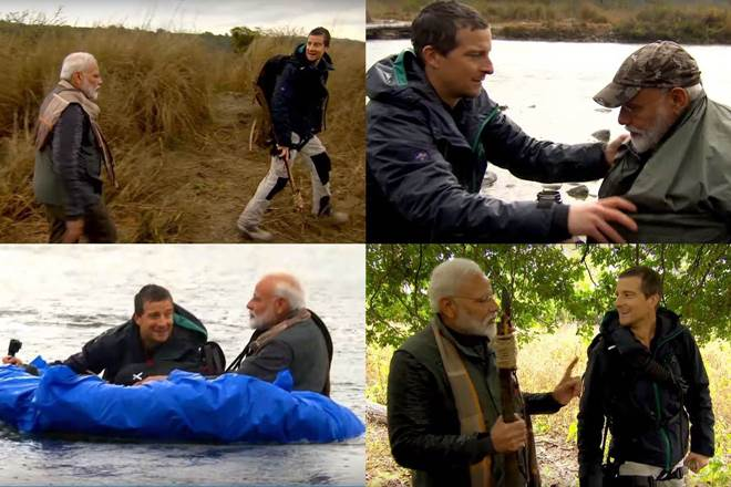 PM Modi Bear Grylls' 'Man Vs Wild