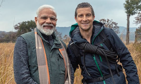Photo of PM Modi Is The First Sitting Indian PM to Feature In Bear Grylls' 'Man Vs Wild'