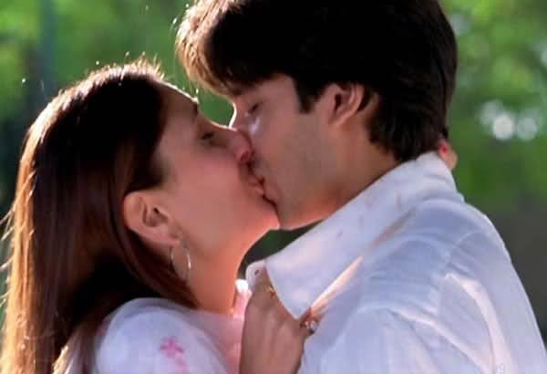 Bollywood Actors Who Kissed Onscreen
