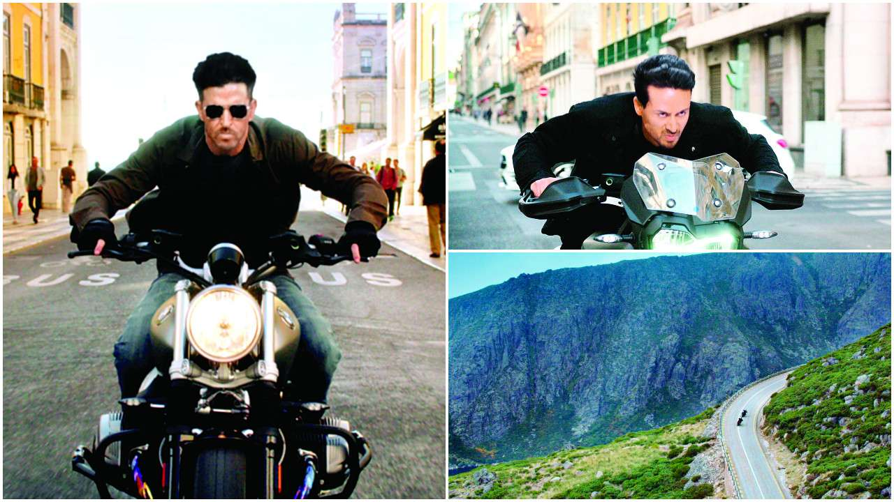 Photo of Hrithik Roshan And Tiger Shroff Will Crash Their Bikes Into Each Other. Here's Why