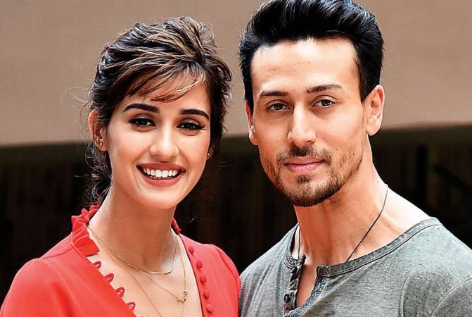 Disha Patani Surprises Tiger Shroff With Her Incredible Backflip. Have A Look For Yourself