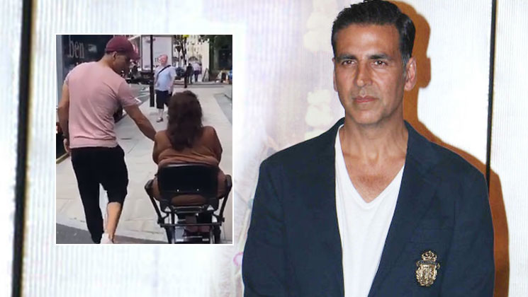 Photo of Akshay Kumar Urges Fans To Have Parents Time With A Stroll On London Streets With Mom: Aruna Bhatia