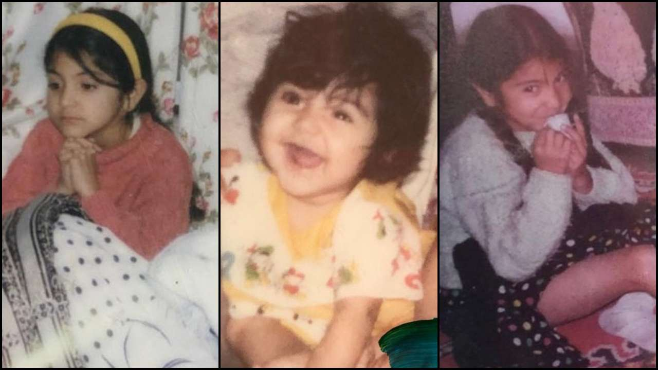 Anuskha Sharma Childhood Pics