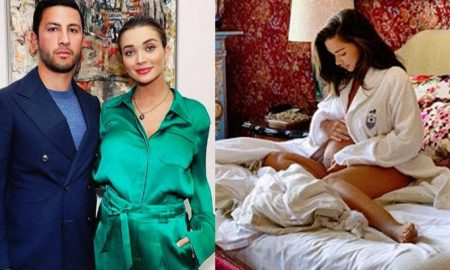 Amy Jackson Pregnancy Photoshoot