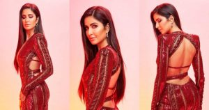 Arjun Kapoor Explains Katrina's Backless Maroon Gown In His Own Words. Kat's Reply Is Much Awaited