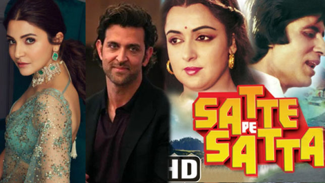 Photo of Hrithik Roshan & Anushka Sharma Teaming Up for 'Satte Pe Satta' Remake