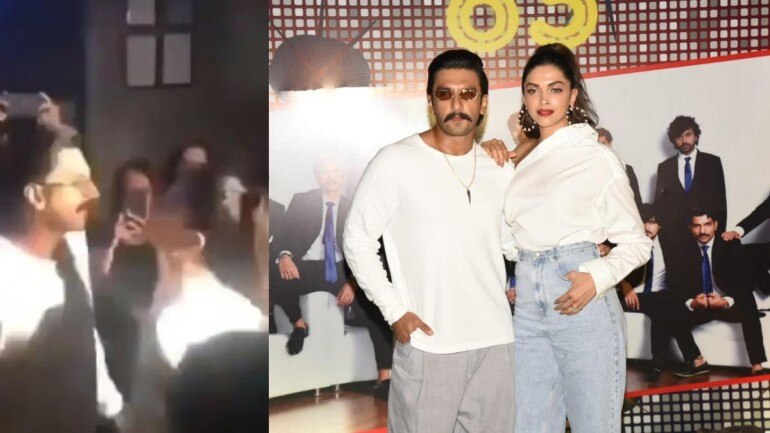 Photo of We Bring 2 U Deepika Padukone & Ranveer Singh Burning The Dance Floor At '83 Wrap-Up Bash