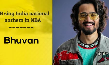 Bhuvam Bam Indian National Anthem NBA