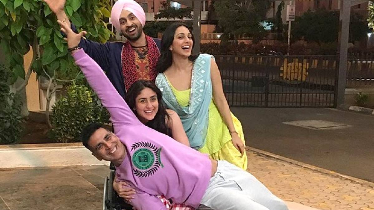 Photo of Team 'Good Newwz' : Akshay Kumar, Kareena Kapoor Khan, Diljit Dosanjh & Kiara Advani Have A Challenge 4 U