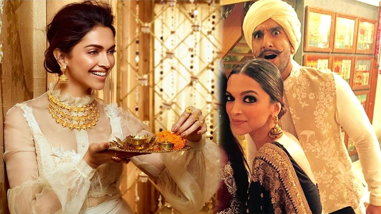 Photo of It's All Family & No Work When It Comes To Deepika Padukone & Ranveer Singh's 1st Diwali As A Married Couple