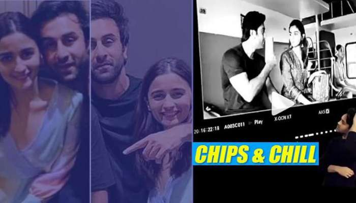 Photo of Watch The Future Married Couple Ranbir Kapoor And Alia Bhatt On A Train Journey Together