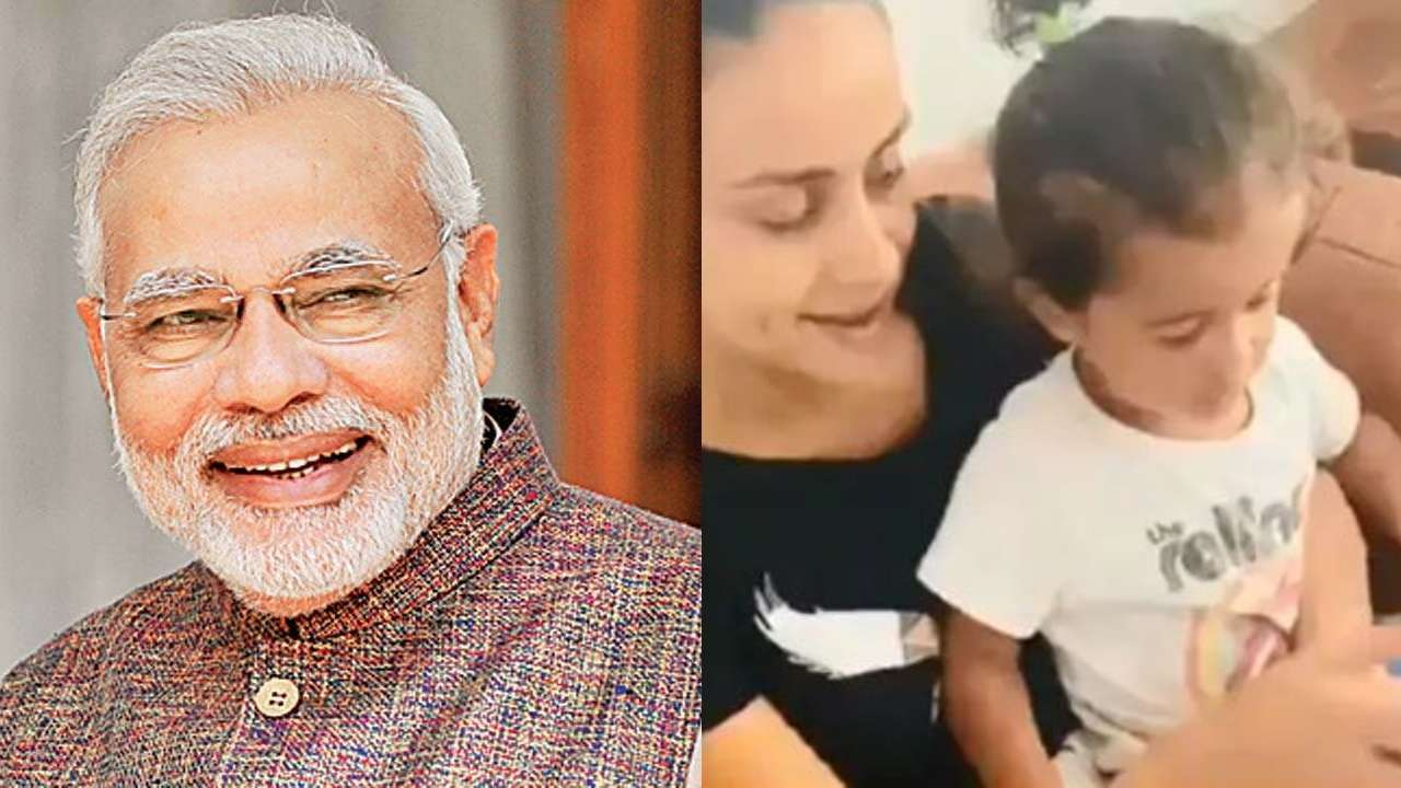 Photo of Here's Why PM Narendra Modi Called Gul Panag's Little Angel: 'Extremely Adorable'