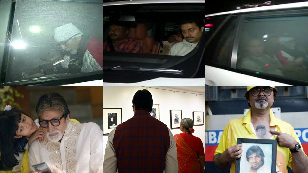 Photo of Amitabh Bachchan Is Back Home Accompanied By Son Abhishek & Wife Jaya Post 3 Days Of Hospitalization