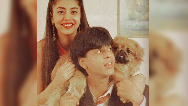 Photo of Rare Pics Of Bollywood's Badshah & His Queen: Shah Rukh & Gauri Khan On The Eve Of Their 28th Wedding Anniversary