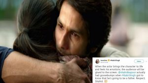 Shahid Kapoor Is Amazed When One Of His Fans Caught Him Having Goosebumps While Doing 'Kabir Singh' Scene