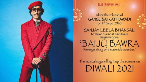 Photo of Ranveer Singh Could Play Baiju Bawra In Sanjay Leela Bhansali's Next?