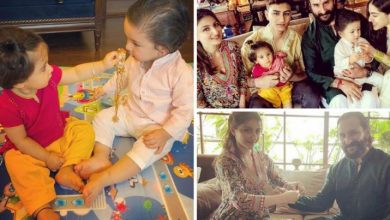 Photo of Sara Ali Khan's Shared Photoshopped Baby Pic of Herself Bears Strong Resemblance To Taimur And Inaaya