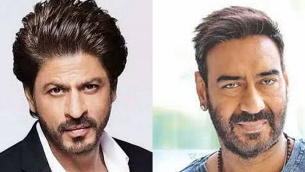 Ajay Devgn Shah Rukh Khan Happy Birthday