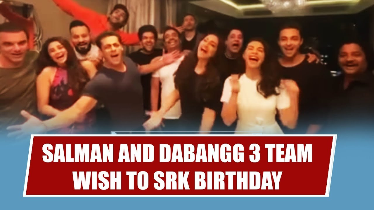 Salman Khan Shah Rukh Khan Happy B'Day