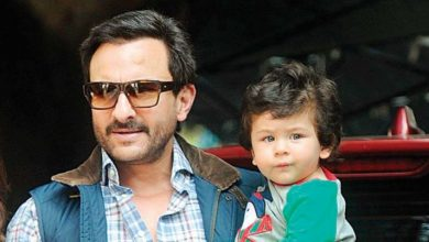 Photo of Saif Ali Khan's Back is Taimur's New Favourite Place in The House
