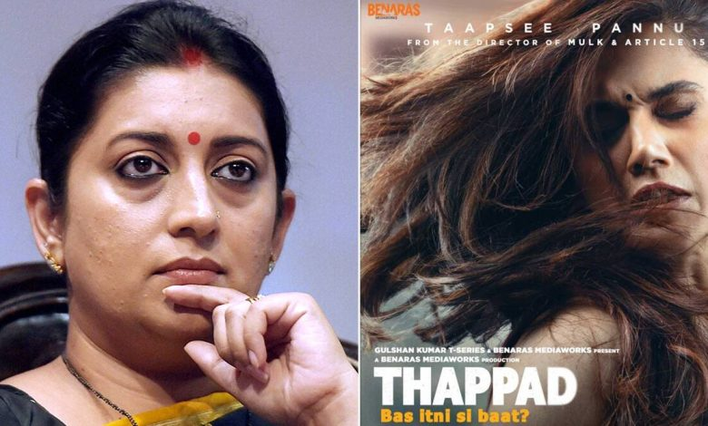 Taapsee Pannu's Thappad Gets Appreciation From Union Minister