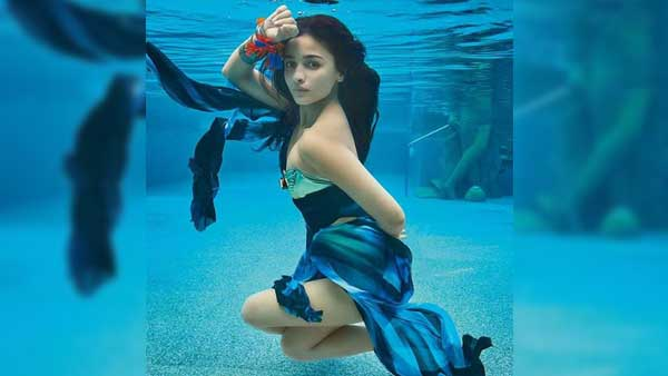 Photo of Alia Bhatt's Underwater Photo-shoot For Vogue India Magazine Is Too Hot To Handle