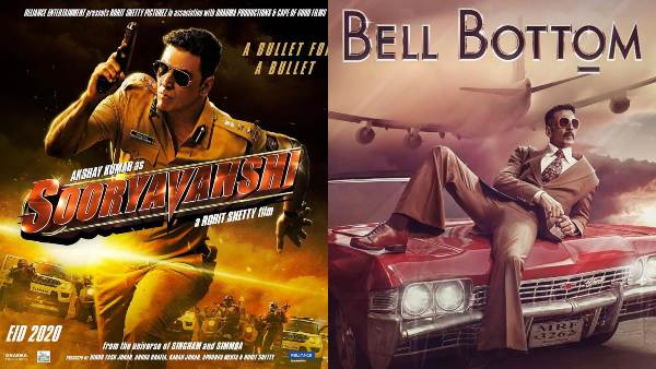 Release Dates and Looks of Akshay Kumar From Sooryavanshi To Bell Bottom