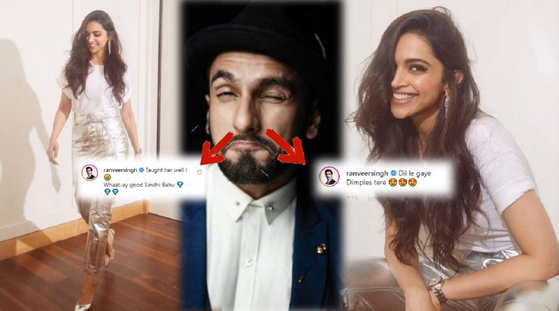 Deepika Padukone's Comment Leaves Hubby: Ranveer Singh Blushing During His Instagram Live Session