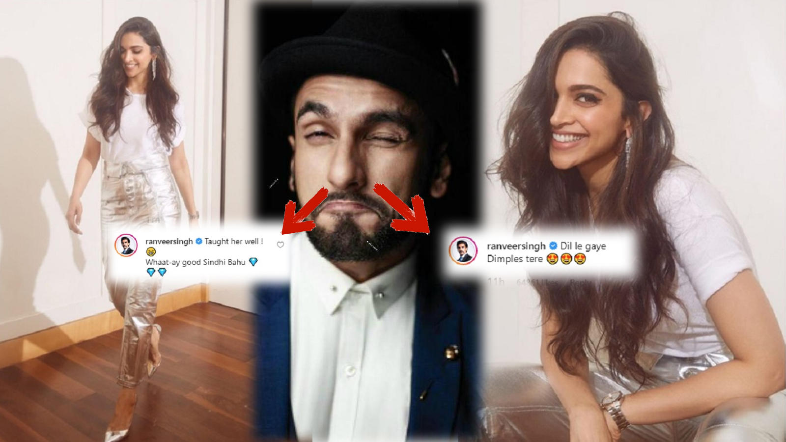 Photo of Deepika Padukone's Comment Leaves Hubby: Ranveer Singh Blushing During His Instagram Live Session
