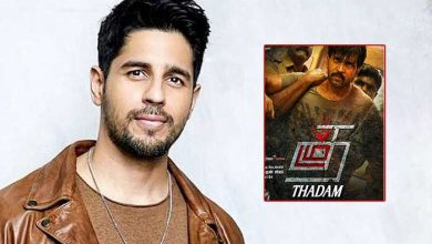 Photo of Sidharth Malhotra To Play A Double Role in Bollywood Version of Tamil Film 'Thadam'
