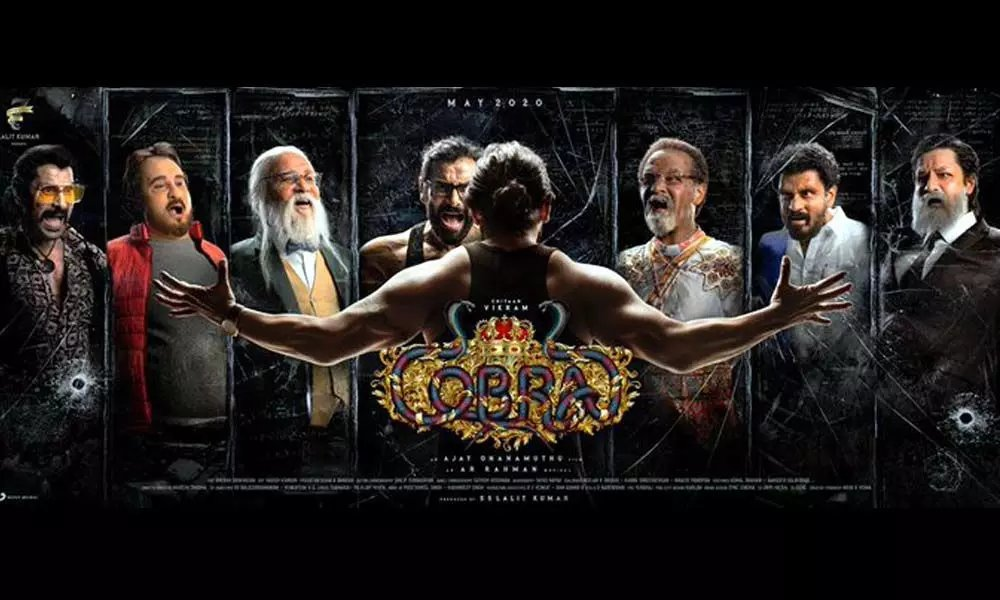 Chiyaan Vikram To Take 7 Different Avatars, All To Stun His Fans