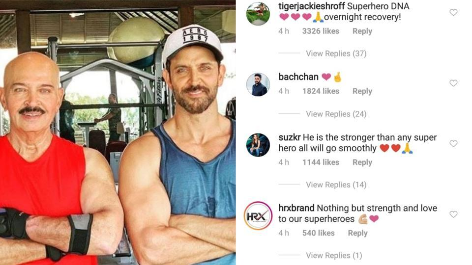 Rakesh Roshan Shares Son Hrithik Roshan's Reaction To His Cancer Diagnosis