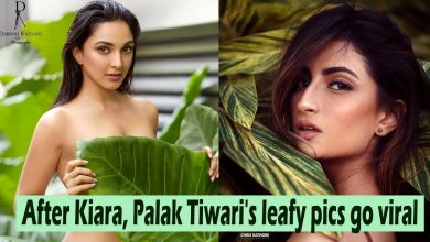 Photo of Palak Tiwari Does a Kiara Advani. All Thanks to Green Leaves.