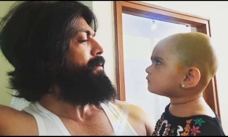 KGF Star Yash Cannot Face His Daughter Ayra's Anger And He's Happy About Too