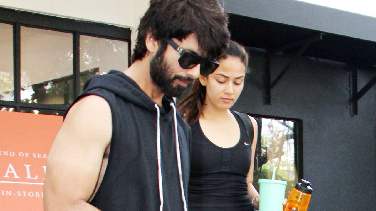Did Shahid Kapoor-Mira Rajput Disregard Government Orders For A Gym Workout?