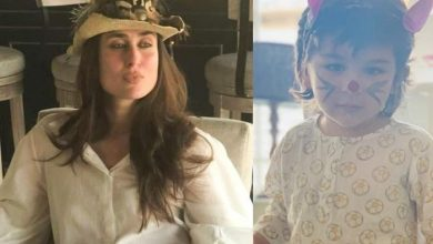 Photo of Kareena Kapoor & Saif Ali Khan Turn Taimur Into Easter Bunny