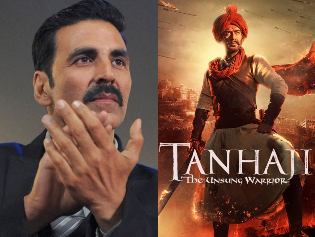 Photo of Akshay Kumar Promotes Ajay Devgn's Tanhaji: The Unsung Warrior On His Twitter