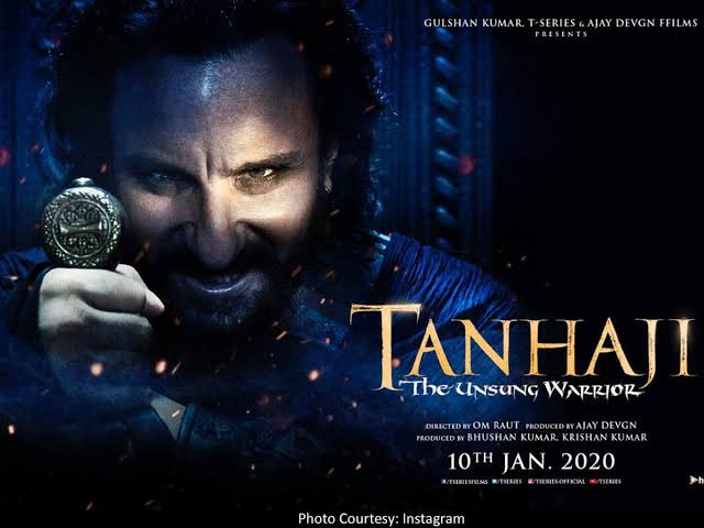 Photo of Ajay Devgn Shares Saif Ali Khan's Terrifying Villain Look From 'Tanhaji: The Unsung Warrior'