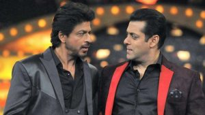 Shah Rukh Khan Screen With Salman Khan