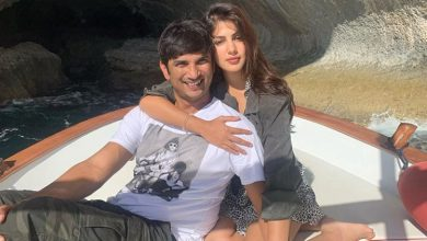 Photo of Supermassive Black Hole: Rhea Chakraborty's Cute Name For Beau Sushant Singh Rajput