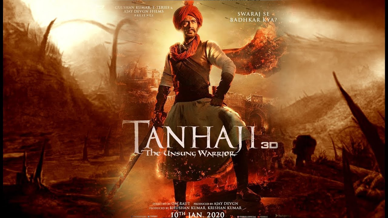 Photo of  'Jai Shivaji Jai Tanhaji' Is A Hit On Twitter After Ajay Devgn Unveils Its Latest Poster & Promo
