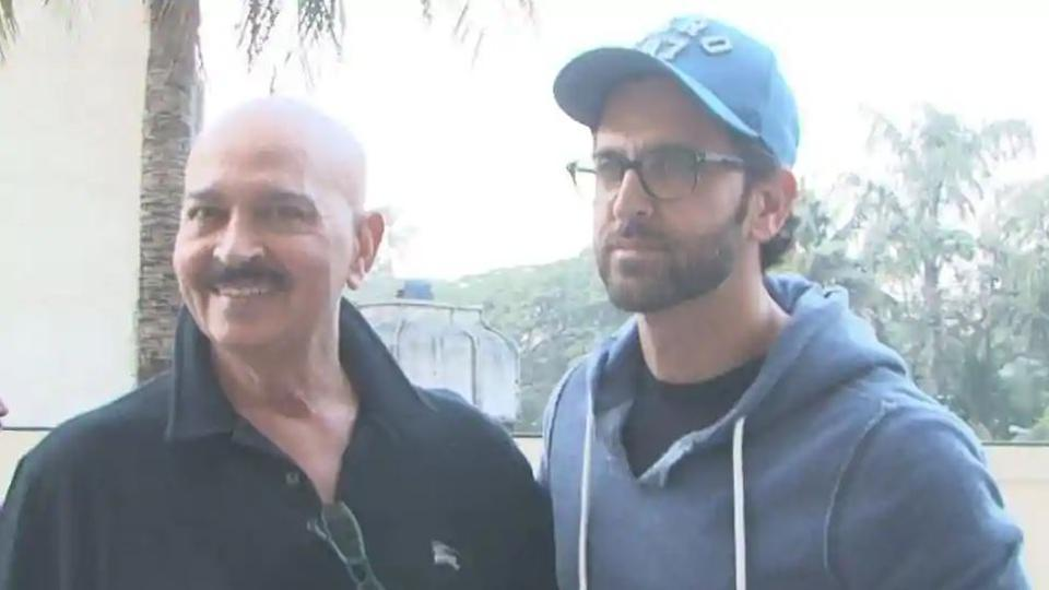 Photo of Rakesh Roshan Shares Son Hrithik Roshan's Reaction To His Cancer Diagnosis