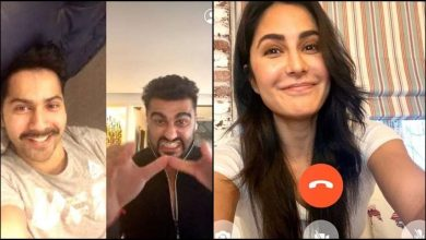 Photo of Katrina Kaif, Varun Dhawan And Arjun Kapoor Unite on Facetime